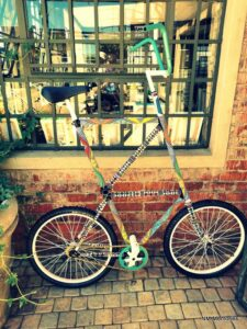 Fancy a ride on this Victoria Yards bicycle